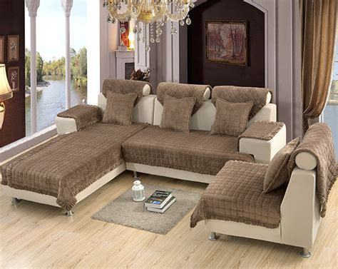 Slipcovers For Sectional With Chaise by Sectional Slipcovers Homesfeed