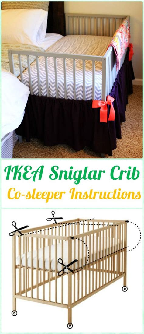Sniglar Crib Assembly by 25 Best Ideas About Baby Co Sleeper On Co