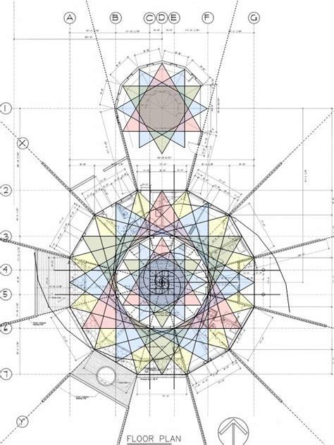 Sacred Geometry House Plans 363 Best Math Images On