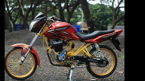 Honda Verza Modifikasi by Contoh Modifikasi Honda Verza Dengan Velg Jari Jari