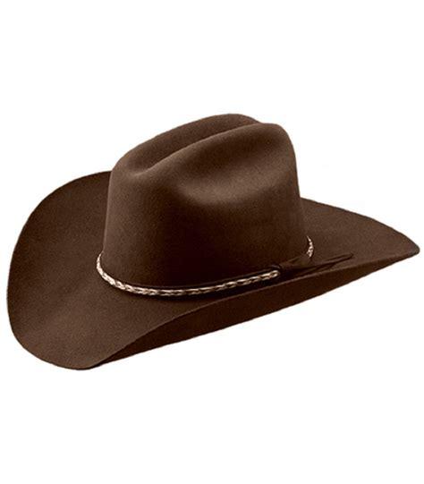 master hatters quot bandit quot 3x cordova felt cowboy hat brown