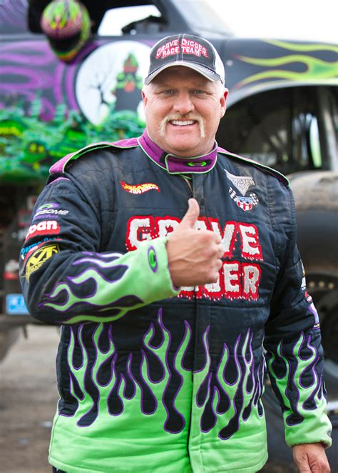 grave digger monster truck driver grave digger driver 163497 photo 2 trucktrend com