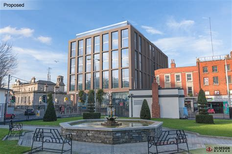 bureau hotel 3d design bureau planning granted for 18 5m hotel