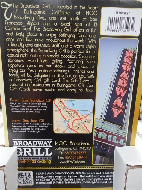 Broadway Ticket Gift Card - napa valley wine train discount gift card