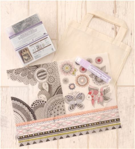 Decoupage Starter Kit - line up kaleidolines kuretake