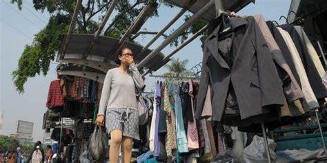 Jaket Second Di Pasar Senen Pedagang Pakaian Bekas Di Senen Mengaku Cuma Kaki Tangan
