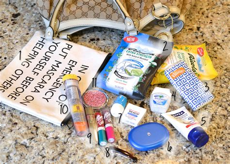 In Our Bag by What In Your Purse Winter Edition 15 Minute Fanatic