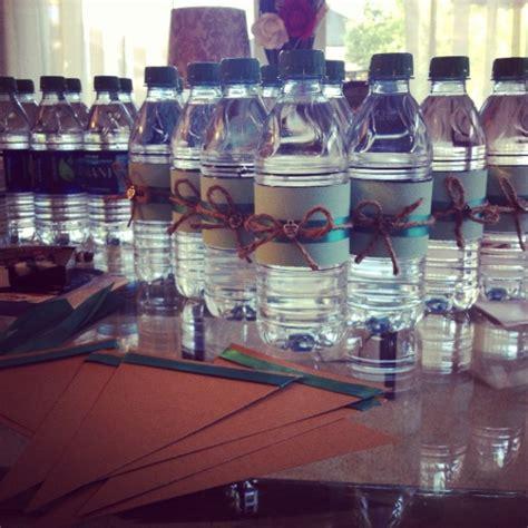 Water Bottle Decorating Ideas by Water Bottles Baby Shower Decor Drinks Ideas