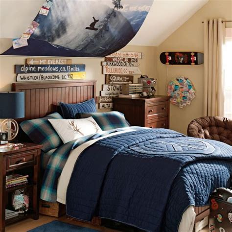 Guys Bedrooms | extreme sports bedroom ideas design dazzle