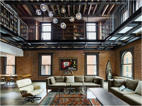 home design new york tribeca loft 1892 building transformed into a home in st