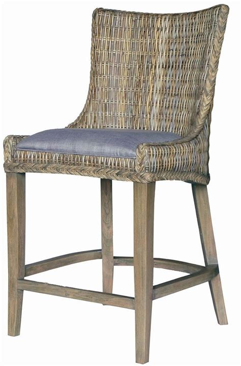 woven counter height dining chair set of 2 101076 coaster