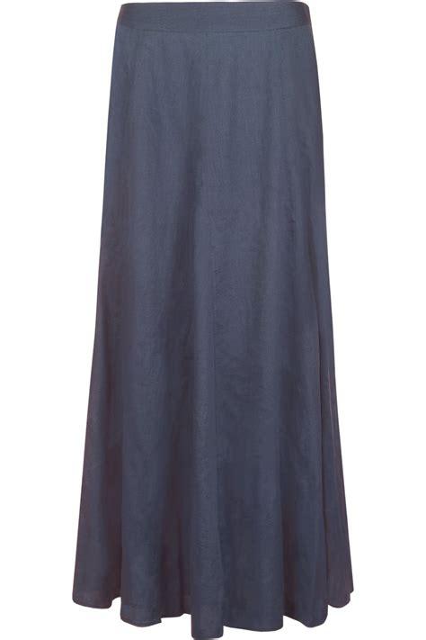 Godet Skirt godet skirt with shallow waistband cobalt
