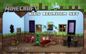 minecraft wallpaper for bedroom minecraft bedroom at daer0n sims 4 designs 187 sims 4