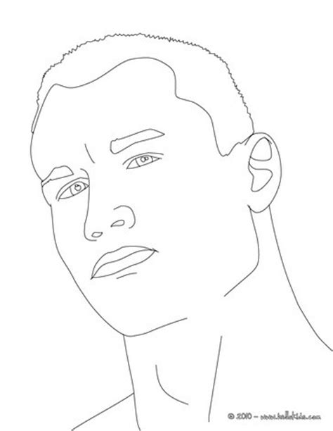 Randy Orton Coloring Pages Hellokids Com Randy Orton Coloring Pages