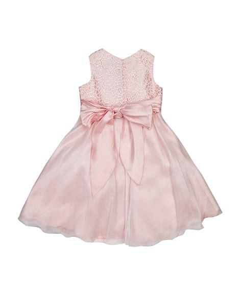 Terlaris Ribbona Dress Promo Discount S 1 7yrs Dusky Pink Ribbon Dress Secretsales