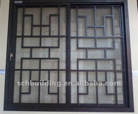 Window Grills Design Interior Window Grills Multidao Metal Pinterest Window