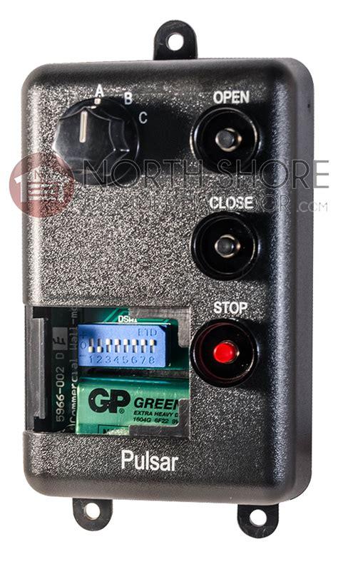 Garage Door Transmitter Pulsar 733t Gate Garage Door Opener Remote 318mhz