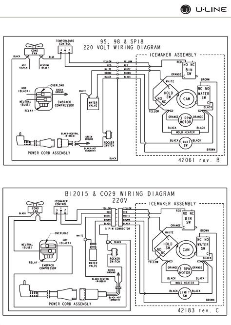 refrigerator maker wiring diagram wiring diagram