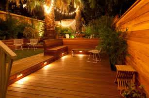 outdoor light design ideas deck lighting ideas