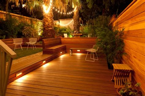 Deck Lighting Ideas by Lighting Ideas For Outdoor Gardens Terraces And Porches
