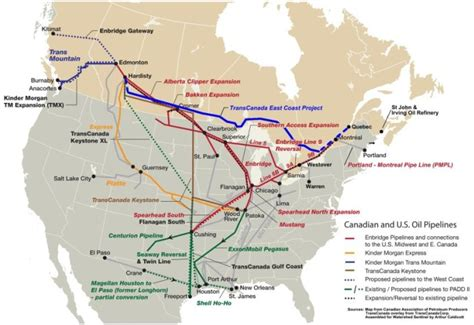 pipeline map usa bad river band denies pipeline renewal the pointer