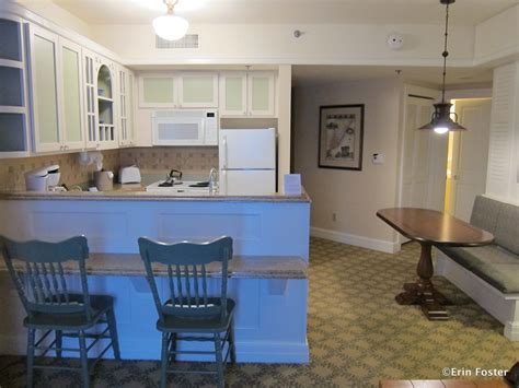 beach club one bedroom villa disney food for families the dvc villa kitchens part 2