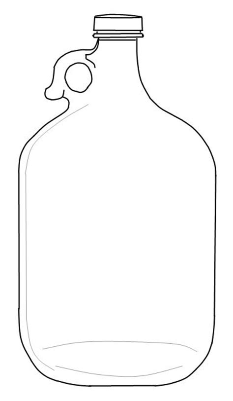 jar template jug template colouring pages