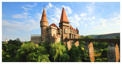 Mid Century Traditional by Corvin Castle Hunedoara Castle Transylvania Romania