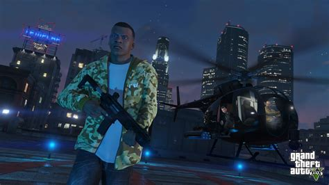 Grand Thft Auto V by Grand Theft Auto V Will Run In True 1080p On Ps4 Says Report
