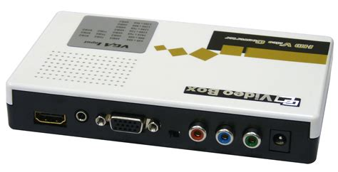 Konverter Av To Hdmi vga and component stereo audio to hdmi converter