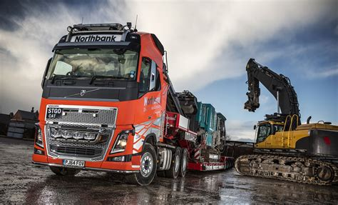 volvo trucks uk fh16 is first heavy haulage volvo for northbank demolition