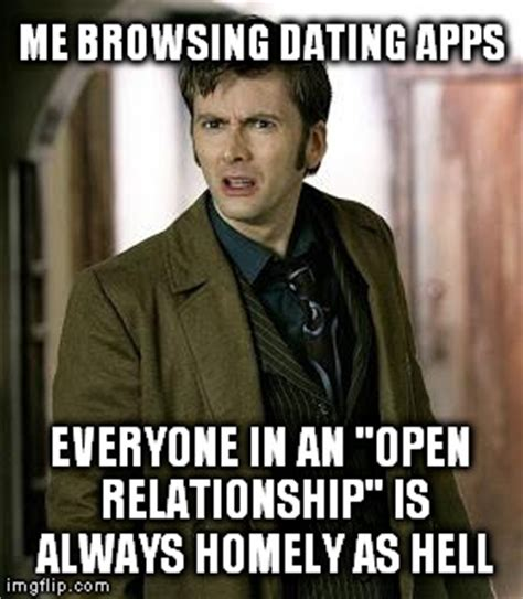 Open Relationship Meme - doctor who is confused imgflip