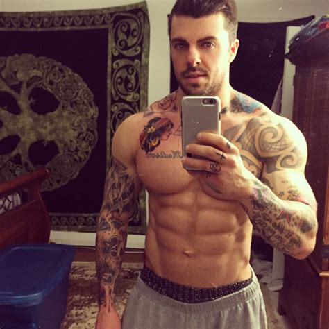 chest tattoo gym on shoulder fitness workout on instagram
