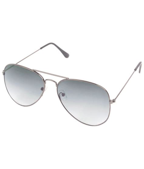 Gray Unisex 6by6 sliver gray unisex aviator sunglasses buy 6by6