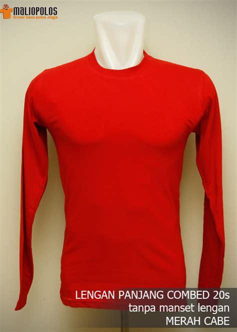 Kaos Lp Kickout Hitam Abu Biru Merah kaos polos lengan panjang cotton combed 20 s grosir