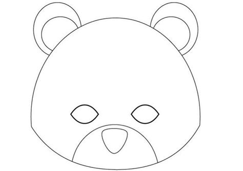 how to craft teddy bear mask hellokids com