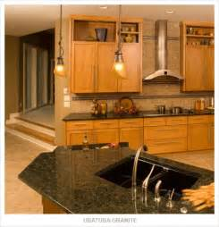 Pictures of kitchens with honey oak cabinet and granite