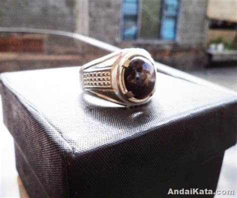 Batu Cincin Berwarna Hitam batu cincin yang cocok untuk remaja anak muda