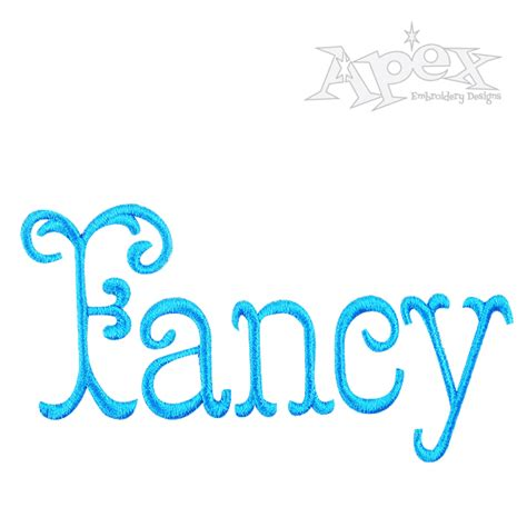 fancy font design online fancy fishtail embroidery fonts