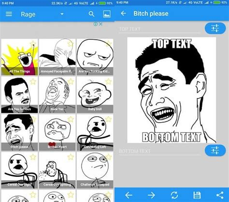 Meme Creating App - best meme generator apps for android create memes