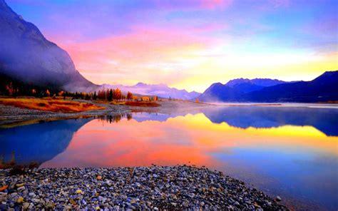 beautiful lake beautiful sky hd beautiful lake view wallpaper free 118725