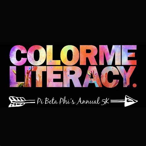 pi phi colors pi beta phi s color me literacy 5k 2015 elite timing