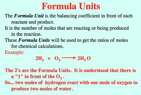 Unit Credit Formula Heat And Combustion Related Keywords Heat And Combustion Keywords Keywordsking