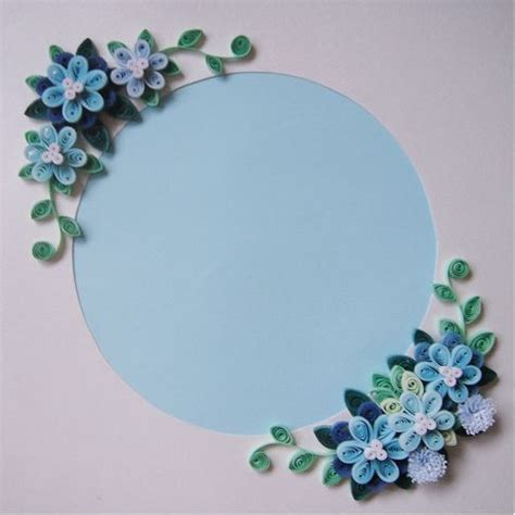paper quilling photo frame tutorial 1000 images about quilled frames on pinterest frame