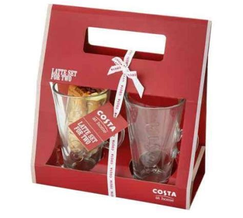 costa coffee latte gift set argos 163 5 99 hotukdeals