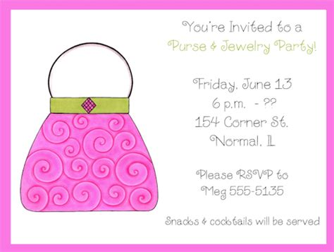 6 best images of jewelry party invitation free printable