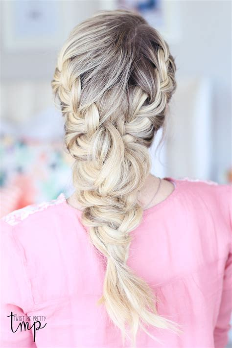 braid hairstyles book mixed french braid tutorial twist me pretty