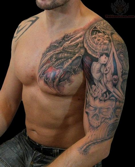 mechanical tattoos for men mechanical images designs