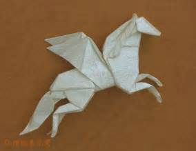 Complex model origami pegasus to perform this requires some skill and