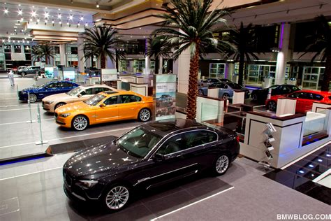 bmw showroom bmw opens largest showroom worldwide in abu dhabi